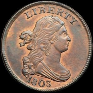 Half Cent 1800-1808 Draped Bust